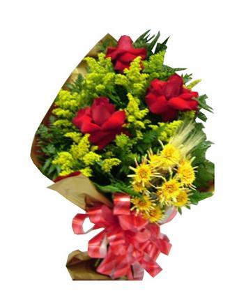 Bouquet de Flores de Rosas e Tango